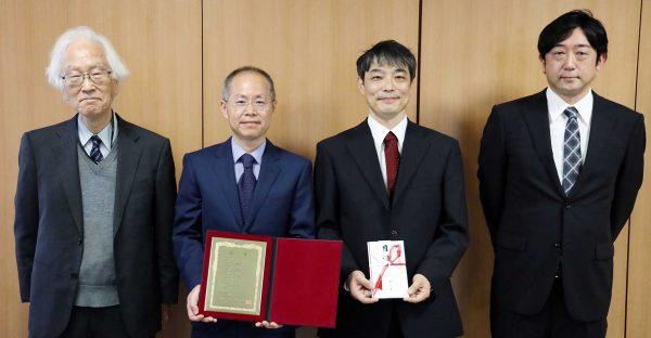 方 志高氏、杉村 高志氏、佐藤 将春氏が西川賞を受賞