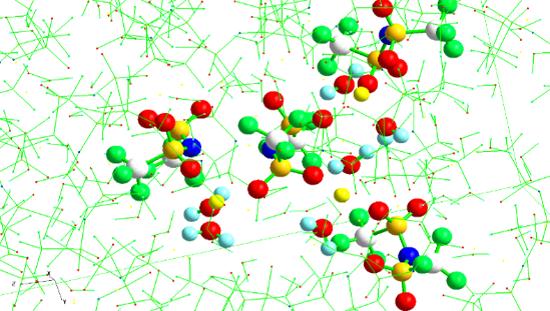 水系リチウムイオン電池実用化のカギを握る濃厚リチウム塩水溶液の液体構造を解明